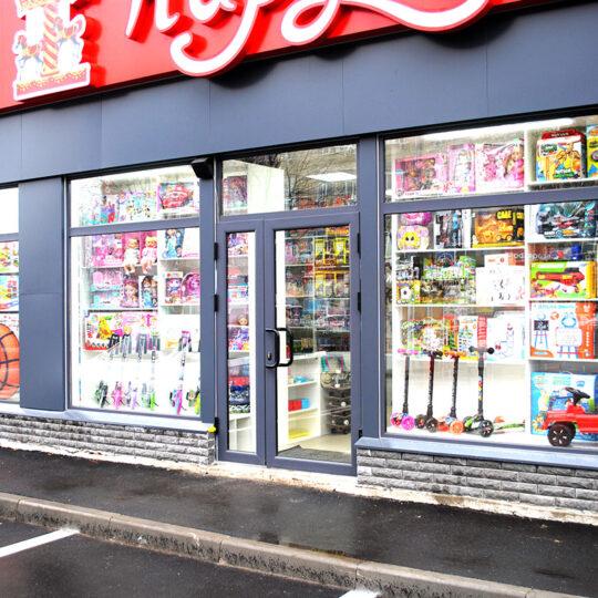 оформление витрин детского магазина